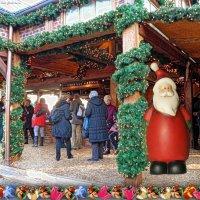 Рождественский базар в Гамбурге (серия). Предпраздничное настроение :: Nina Yudicheva