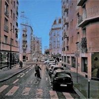 Где-то по улочкам Парижа. :: Лара ***
