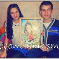 Шарж в подарок девушке на день рождения :: Максим Смолянников
