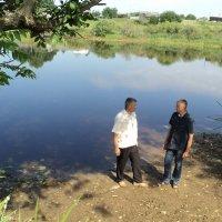 Два брата!!! На реке Нища в Клястицах :: Андрей Буховецкий