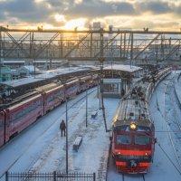 Москва, Белорусский вокзал. :: Игорь Герман