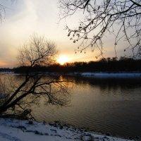 Зимний закат :: Андрей Снегерёв