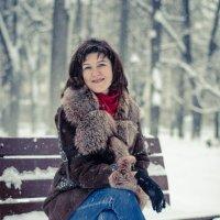 Зима в парке :: Оксана Грищенко