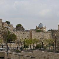 Стены старого города в Иерусалиме :: Владимир Брагилевский