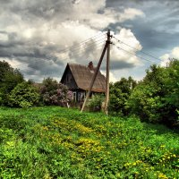 Перед грозой :: Елена Строганова