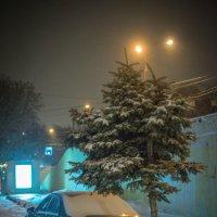 Ночной снегопад в Москве :: Игорь Герман
