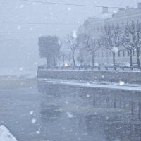 снегопад в Питере :: Елена