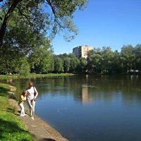 Однажды летом на озере :: Елена Семигина
