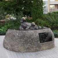Скульптура«Собачья верность» :: Наталья Джикидзе (Берёзина)