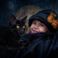 Маленькая колдунья :: Нина