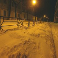 ночь, улица, фонарь... :: Наталья Сазонова