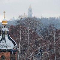 Зима припорошила купола :: Людмила Зайцева
