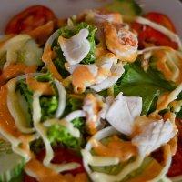 салат с морепродуктами :: Юлия