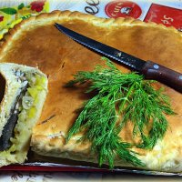 А не вкусить ли нам народного пирога с мойвой?:) :: Андрей Заломленков