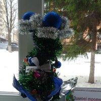 Зимние розы.../Школьный натюрморт/ :: Алекс Аро Аро