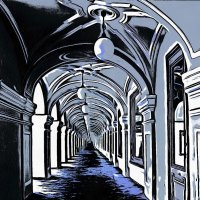 Там города таинственная тень.... :: Tatiana Markova