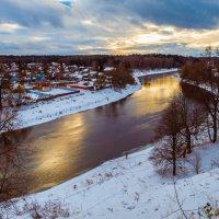 Осенняя река Руза :: Андрей Куприянов