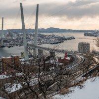 город на закате :: Надежда Шемякина