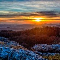 Крымские горы на закате :: Ольга