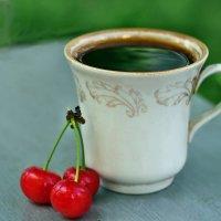 Натюрморта летняя кофейно-шпаночная... или... Просто летний кофе-брейк... :: Александр Резуненко