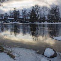 Река Вуокса в декабре. :: Ольга Лиманская