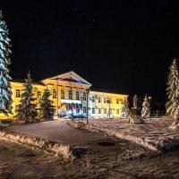 Ночной Апшеронск :: Геннадий Клевцов
