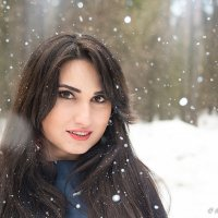В снегу :: Мария Мацкевич