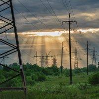 Солнце + электрификация :: Galina