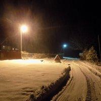 Ночь в деревне :: Андрей .