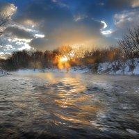 Речные закаты декабря... :: Андрей Войцехов
