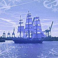 На всех парусах приближается Новый год! :: Nina Yudicheva