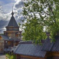 Надвратный храм в честь преподобного Сергия Радонежского. :: kolin marsh