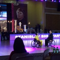 Впечатляющий эпизод на международных соревнованиях по бальным танцам в Днепре... :: Алекс Аро Аро