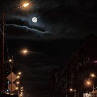 Как и сотни лет назад луна равнодушно наблюдает за нами. :: Виталий Павлов