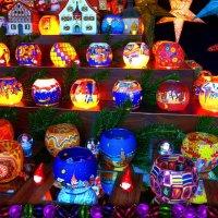 Рождественский базар в Гамбурге (серия). Свет праздника :: Nina Yudicheva