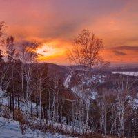 Закат над долиной :: Анатолий Иргл