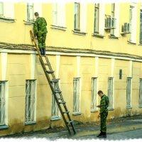 Товарищ командир, просили разбудить к обеду...) :: Андрей Головкин