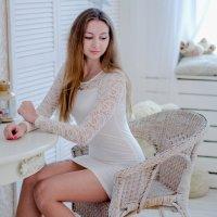 Первая работа в фотостудии :: Валерия Святогорова