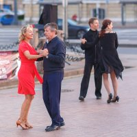 Танцы на Биржевой площади :: Александр Кислицын