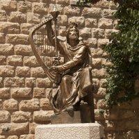 "Иерусалим: Памятник ""Царь Давид"" :: Aleks Ben Israel"