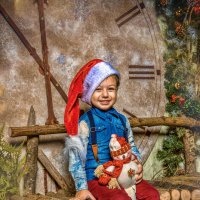 Новогодний гномик :: Андрей Володин
