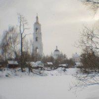 Вид на Николо-Берлюковский монастырь :: Владимир Носов