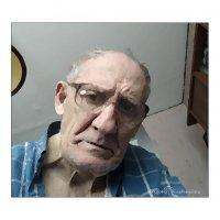 Автопортрет в плохом настроении, без жалости и сочувствия :: Григорий Кучушев
