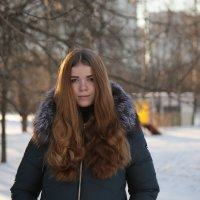 внучка Катя :: Лариса Батурова