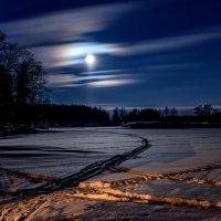 Лунная ночь :: Борис Устюжанин