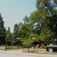 Сквер в честь Крымчан, погибших в Афганистане :: Александр Рыжов