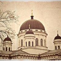 Купола Спасского Староярмарочного Собора :: Андрей Головкин