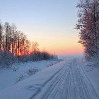 Закат в декабре. :: Галина .