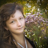 ...грусть сквозь улыбку... :: Светлана Держицкая (Soboleva)
