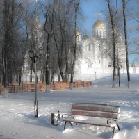 Зима в парке :: Андрей Зайцев